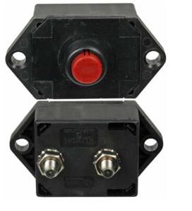SDLM105 by KLIXON - Klixon, Circuit Breaker, 0-30 VDC / 120 VAC, 105A, Manual Type III