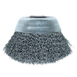 """14077 by SHARK INDUSTRIES LTD. - 3""""x m10-125 crimped cup brush"""