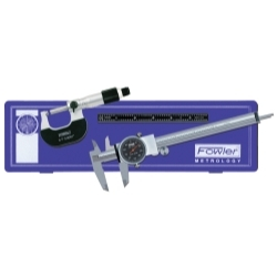 72-229-711 by FOWLER - Measuring Caliper Micrometer Mechanics Set