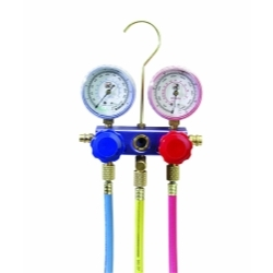 MF134 by INTERDYNAMICS - Complete Manifold Gauge Set in