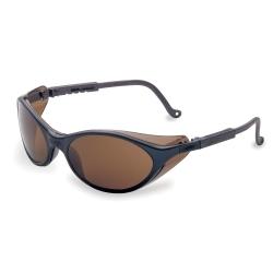 S1623 by UVEX - Bandit™ Safety Glasses with Slate Blue Frames/Expresso Lens