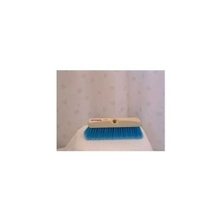 """4116CB by BRUSKE PRODUCTS - 10"""" Blue Wash Brush, Red Bumper"""