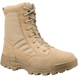 "1150W-TAN-12.0W by THE ORIGINAL SWAT FOOTWEAR CO - Classic 9"" Tan Tactical Uniform Boot, Size 12.0W"