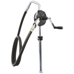 1385H by LINCOLN INDUSTRIAL - Premium 3-Vane Rotary Pump with Hose