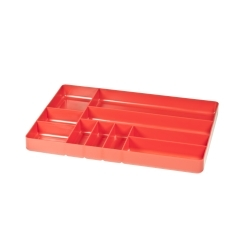 5010 by ERNEST - 10 Compartment Organizer Tray - Red