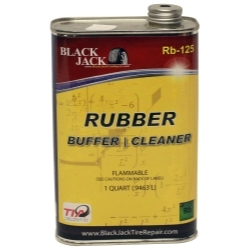 RB-125 by BLACK JACK TIRE REPAIR - Liquid Rubber Buffer-Cleaner - 32 oz. Can
