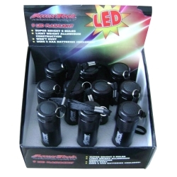 FL1RP by ACCESS TOOLS - 9-LED Flashlight, Retail 10 Pack Display