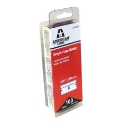 66-0089-DISP by AMERICAN SAFETY RAZOR CO. - American Safety Razor 66-0089 Single Edge Razor Blades