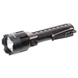 XPP-5420B by BAYCO PRODUCTS - Safety Rated Cree LED Flashlight, Black, Chemical Resistant, Pocket Clip, Uses 3 AA Batteries