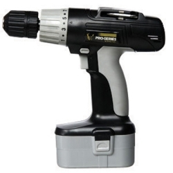 """PS07215 by NEW BUFFALO CORPORATION - Cordless Drill, 18 Volt, 3/8"""" Keyless Chuck, Multiple Torque Settings, with Battery and Charger"""