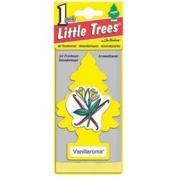 U1P-10105 by CAR FRESHENER - Little Tree Car Freshener, Vanillaroma, One per Pack