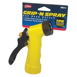 90015 by CARRAND - Insulated Trigger Nozzle, with Removable Threaded Protector, Cushioned Grip, Carded