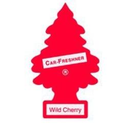 U1P-10311 by CAR FRESHENER - Little Tree Car Freshener, Wild Cherry, One per Pack