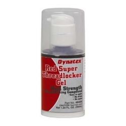 49456 by ACCUMETRIC LLC (DYNATEX) - Red - High Strength Anaerobic Boltlocker GEL 35ml Pump Bottle (6 per case)