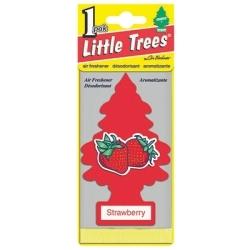 U1P-10312 by CAR FRESHENER - Little Tree Car Freshener, Strawberry, One per Pack
