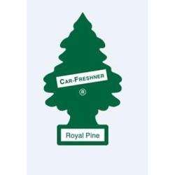 U1P-10101 by CAR FRESHENER - Little Tree Car Freshener, Royal Pine, One per Pack