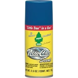 UAL-09089 by CAR FRESHENER - Little Trees In a Can Car Freshener, New Car Scent, 2.5 oz Spray Can