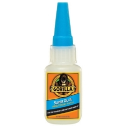 7805002 by GORILLA GLUE - Super Glue 15g Bottle 24pc Bin