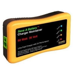 2365-36 by GRANITE DIGITAL - Save A Battery Charger and Maintainer, 36 Volt, with Auto-Pulse, Extends Battery Life