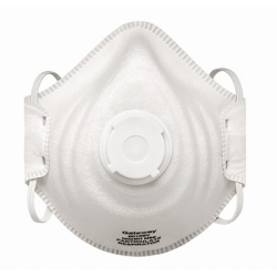 80102V by GATEWAY SAFETY - Particulate Respirator with Vent, N95, PeakFit, Molded Shell, Adjustable Head Strap