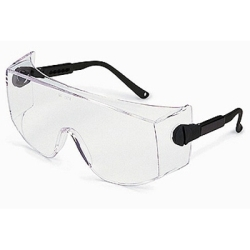 6880 by GATEWAY SAFETY - Safety Glasses, Coveralls, Clear Single Piece Lens with Sideshields, Wear Over Glasses