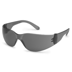 4683 by GATEWAY SAFETY - Safety Glasses, StarLite, Gray Wraparound Lens and Frame, Deep Temple, Snug Comfortable Fit