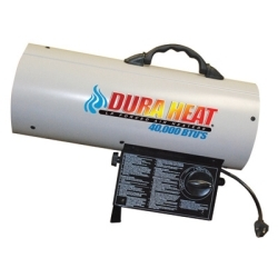GFA40 by DURA HEAT - Forced Air Propane Heater, 40,000 BTU, Heats Up to 900 Square Feet, with LP Regulator