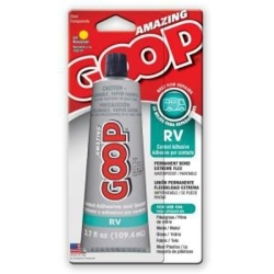 165012 by ECLECTRIC PRODUCTS - Adhesive, Clear, 3.7oz, RV, Goop
