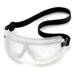 4589F by GATEWAY SAFETY - Black Mirrored Anti-Fog Glasses