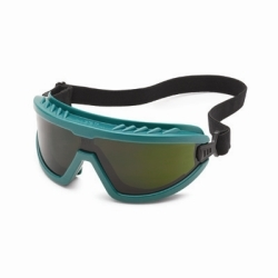 45566 by GATEWAY SAFETY - Safety Glasses - Wheelz Green Frame Frame and IR shade 5.0 Lens