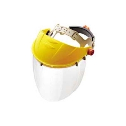"679 by GATEWAY SAFETY - Faceshield with Headgear and Visor, Venom, Clear 15-1/2"" x 8"" Shield, Tension Adjustment in Headgear"
