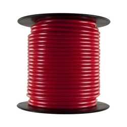 162C by THE BEST CONNECTION - Primary Wire - Rated 80°C 16 AWG, Red 100 Ft.