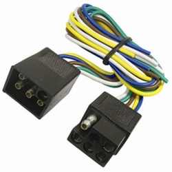 2513F by THE BEST CONNECTION - 5-Way Squared Moist Proof FM/M Trailer Connect 1Pc
