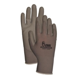 C2602GYM by ATLAS GLOVE - Gray Nylon/Gray Pu Palm Med