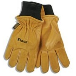 901XL by KINCO INTERNATIONAL - Ski Gloves, Pigskin Leather, Reinforced Palm and Fingers, Heatkeep Thermal Lining, Extra Large