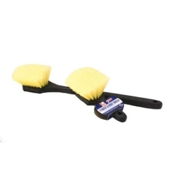 """8472 by LAITNER BRUSH PRODUCTS - Wheel and Fender Brush, 8"""" Long, with Soft Flagged Bristles"""