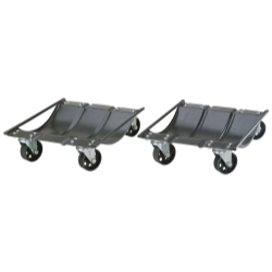 CWD2 by LARIN CORPORATION - Heavy Duty Car Wheel Dolly Set