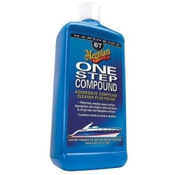 M6732 by MEGUIAR'S - Marine One-Step Compound