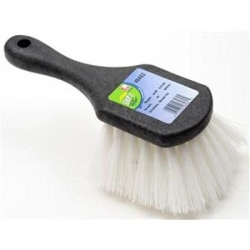 """8482 by LAITNER BRUSH PRODUCTS - Wheel and Fender Brush, 8"""" Long, with Super Stiff Scrub Bristles"""
