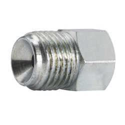 """BR555 by S.U.R. AND R AUTO PARTS - 3/8""""-24 IF to 1/2""""-20 IM 4pk"""