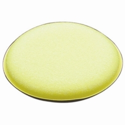 "11009 by RJ STAR - Foam Applicator Pad, 4"" Round, Yellow, High Quality Durable Foam"