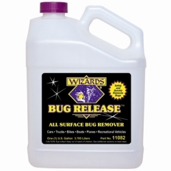 11082 by RJ STAR - Bug Release All Surface Bug Remover, 1 Gallon Bottle, Neutralizes Acidic Bug Proteins