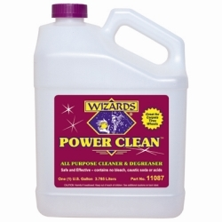 11087 by RJ STAR - Power Clean All Purpose Cleaner and Degreaser, 1 Gallon Bottle, for Tires, Interiors, Carpet