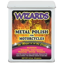 22011 by RJ STAR - Metal Polish for Motorcycles, 3 oz