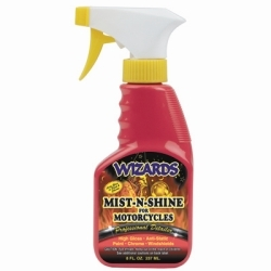 22208 by RJ STAR - Mist-N-Shine Professional Detailer, 8 oz Bottle, Adds Gloss to Paint, Chrome and Glass