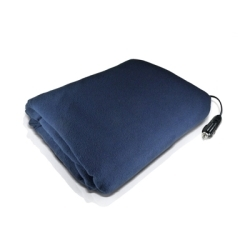"""1222 by CHARGE XPRESS - 12 Volt Heated Blanket, 42"""" x 58"""", Polar Fleece, 8' Cord, Ideal for Traveling, Great Seat Warmer"""
