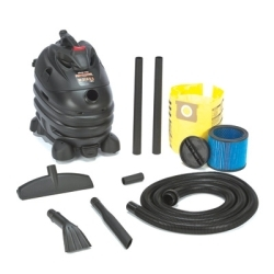 5873510 by SHOP-VAC - 6.5 Peak HP Contractor, Portable with Dolly, Automotive Professional, 10 Gal