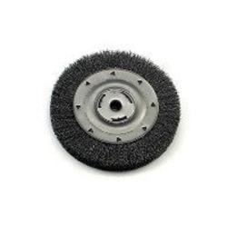 "36006 by WEILER - Bench Grinder Wire Wheel, 8"" Diameter, Coarse Crimped Wire, Wide Face, 5/8"" Arbor"