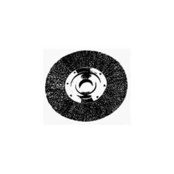 "36065 by WEILER - Bench Grinder Wire Wheel, 10"" Diameter, Coarse Crimped Wire, Wide Face, 3/4"" Arbor"
