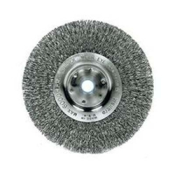 "01178 by WEILER - 8"" NAR 3/4"" WIRE WHEEL .014"